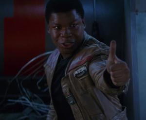 Finn thumbs up