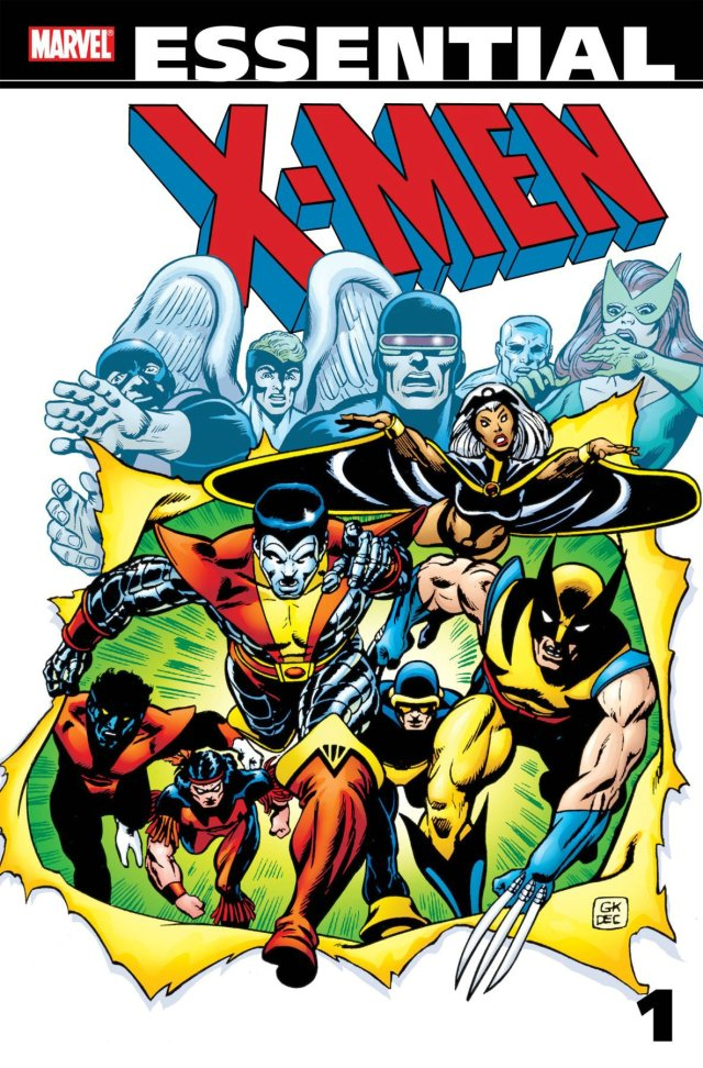 Essential Xmen vol 1