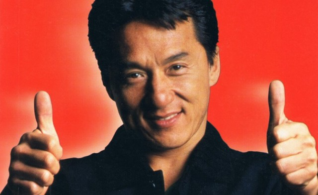 Jackie Chan from Book Cover