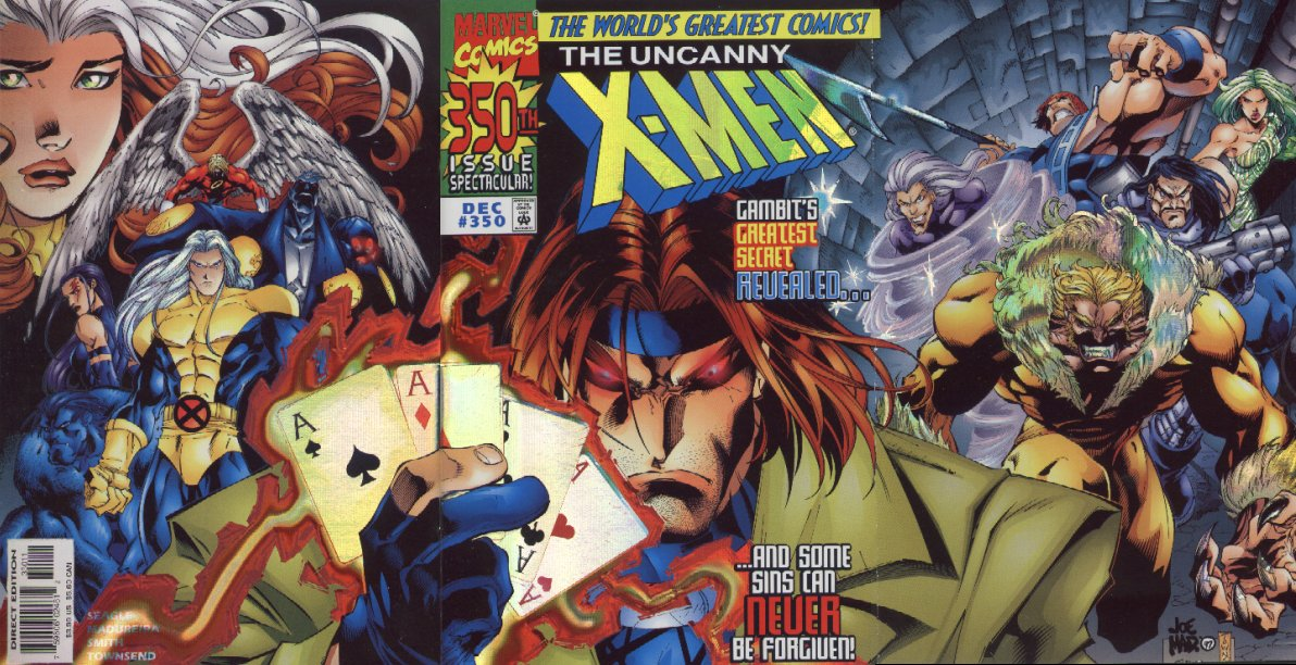 Uncanny X-Men 350 full cover